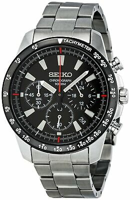 Seiko SSB031 Men's Chronograph Stainless Steel Case Watch SSB031P1