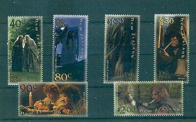 New Zealand - Sc# 1750-60. 2001 Lord of the Rings. MNH $29.85.