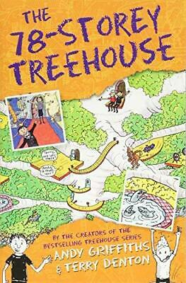 The 78-Storey Treehouse by Andy Griffiths Paperback NEW Book