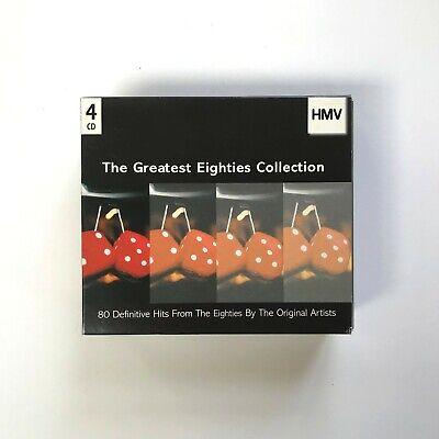 The Greatest Eighties Collection CD box set, definitive hits, EMI