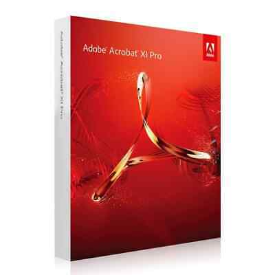 Adobe Acrobat XI (11) PRO Professional Windows DEUTSCH VOLLVERSION Download