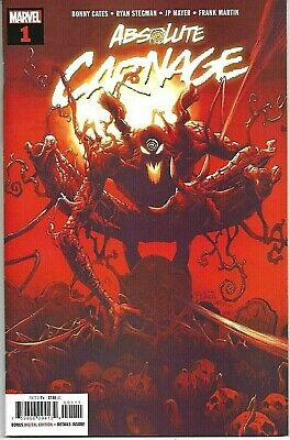 Absolute Carnage #1 (2019 Marvel) Ryan Stegman Main Cover NM
