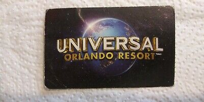 Universal Studios Orlando Florida 1-park 1-day !VALUE DAYS ONLY!(childs ticket)