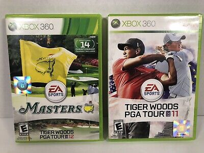 Xbox 360 : Tiger Woods PGA TOUR 12: The Masters & Tiger Woods PGA TOUR 11 Tested