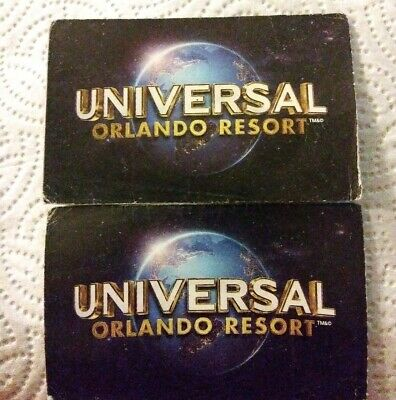 Universal Studios Orlando Florida 1-Park 1-Day VALUE DAYS ONLY(Two Adult Passes)