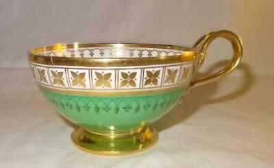 19th Century Empire Period SEVRES French Etruscan Cup