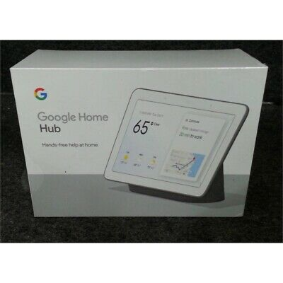 Google GA00515-US Home Hub With Google Assistant Charcoal