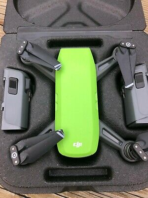 DJI CPPT000734 Spark Camera Drone - Meadow Green.