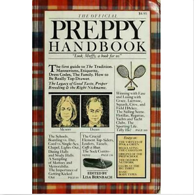 The Official Preppy Handbook by Birnbach, Lisa [P.D.F] INSTANT DELIVERY