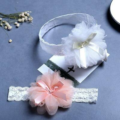 1pc Baby Girls Toddler Lace Flower Headband Accessories Hair Band Headwear Kids