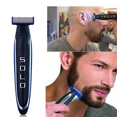 MicroTouch Micro Touch SOLO Men's Electric Shaver Rechargeable Trims Edges Razor