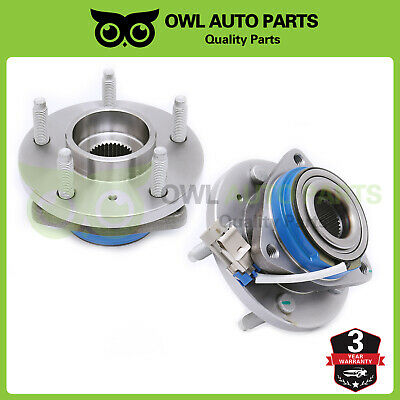 513121 Set For Chevy Impala Buick Cadillac 5Lug Front Wheel Hub Bearing Assembly