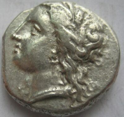 GREAT  MAGNA GRAECIA : METAPONTION, 330-290 BC AR STATER , high grade