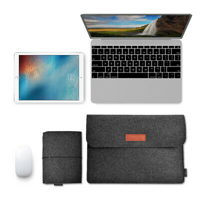 Shockproof Notebook Case Sleeve Laptop Bag Cover Mouse Pouch 13'' MacBook B9N9
