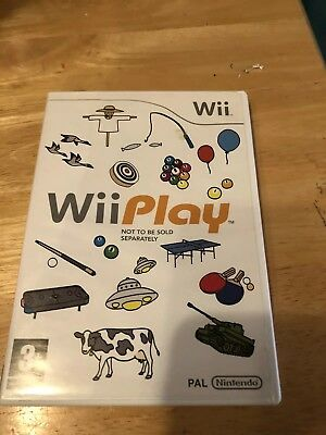 Wii & Wii U - Wii Play (Game Only)