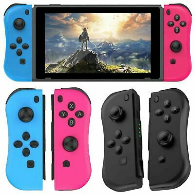 Joy-Con L&R Wireless Game Controllers Gamepad For Nintendo Switch Game Console