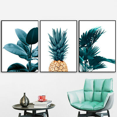 Nordic Pineapple Wall Painting Posters Cuadros Prints Plant Art Picture decor