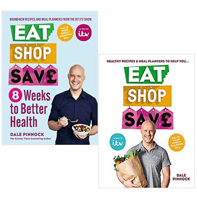 Dale Pinnock Eat Shop Save Better Health,Eat Shop Save 2 Books Collection Set