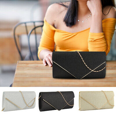 Women Bag Envelope Clutch Shiny Glitter Wedding Bags Handbags Evening Bags