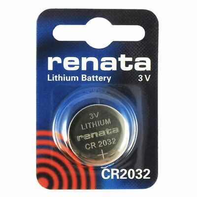 Renata CR2032 3v Lithium Watch Button Battery CMOS, BIOS, MOTHERBOARD
