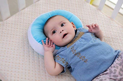 Anti Flat Head Baby Pillow, KAKIBLIN Head Shaping Pillow for Infants Soft Head