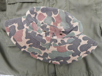 VINTAGE 60'S US ARMY sf LRRP SOG genuine DUCK HUNTER BEO GAM BOONIE JUNGLE HAT m