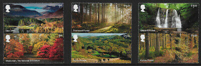 GB 2019 Forests u/m mnh stamps x 6 - new