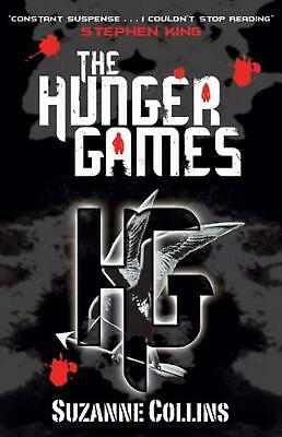 The Hunger Games by Suzanne Collins Paperback Book Free Shipping!
