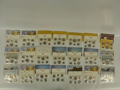 1968-87 Canada Uncirculated Coin Set Lot Of 21