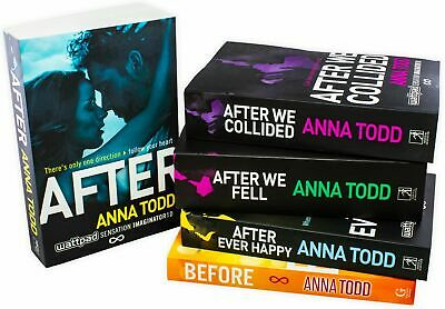 Anna Todds The After Series 5 Books Collection Box Set New