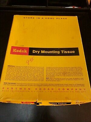 Kodak 8x10 Dry Mount Tissue, 150 sheets