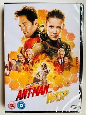 Ant Man And The Wasp Dvd Movie Marvel Region 2
