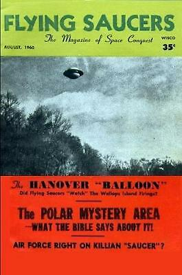 Flying Saucer Magazine - August 1960 by Flying Saucer Magazine Paperback Book Fr