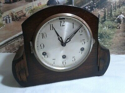 1940's Westminster chiming  Mantle clock in  restored serviced working condition