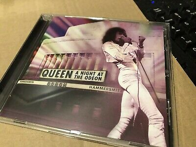 Queen A Night At The Odeon Cd Album Near Mint