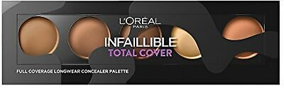 Loreal Infallible Total Cover Full Face Coverage Concealer  Tan to Deep 02