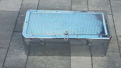 Sterilcontainer Steribox Sterilgutbehälter, Transportbox,57x27x19 cm