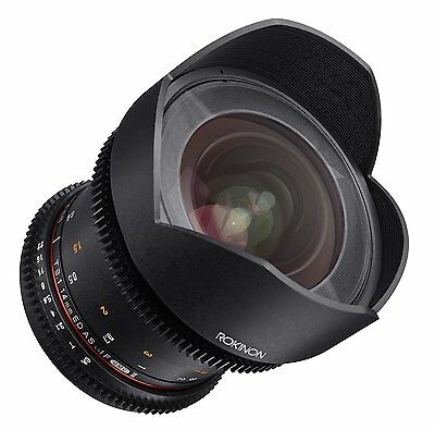Rokinon Cine DS 14mm T3.1 Wide Angle Cine Lens for Sony And Mount Full Frame