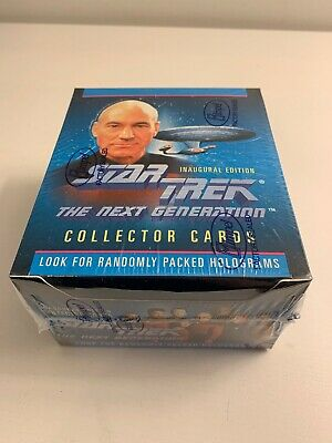 Impel Star Trek The Next Generation Collector Cards Inaugural Edition Sealed Box