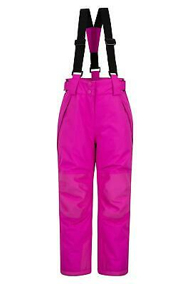 Mountain Warehouse Kids Ski Pants Waterproof Breathable and Insulated