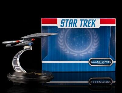 Star Trek The Next Generation Qmx Mini Masters USS Enterprise NCC-1701 D Figure