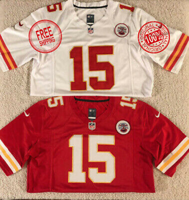 NWT Patrick Mahomes #15 Kansas City Chiefs White Stitched Men's Jersey