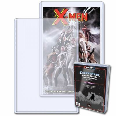 (1 Pack of 10) BCW Current Comic Toploader - Plastic Display Case / Protector
