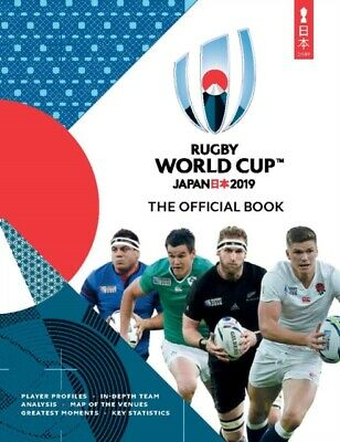 RUGBY WORLD CUP JAPAN 2019 OFFICIAL BOOK, Collings, Simon