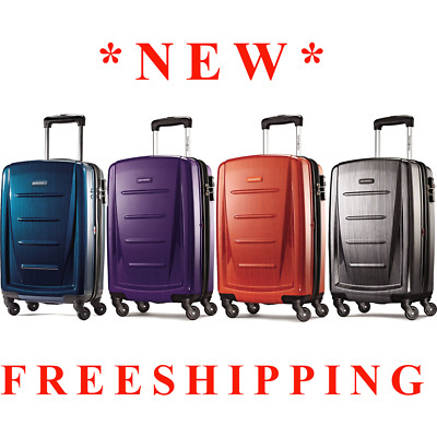 "*SALEOFF* NEW Samsonite Winfield 2 Fashion 20"" Spinner *FREESHIPPING*"