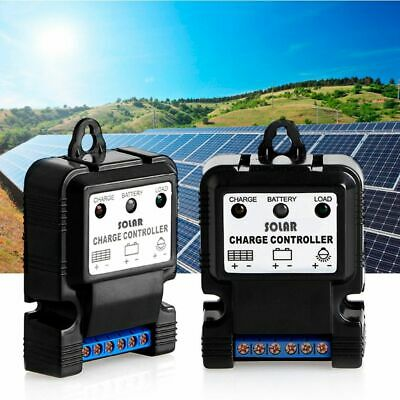 6V 12V 10A Auto Solar Panel Charge Controller Regulator PWM Battery Charger