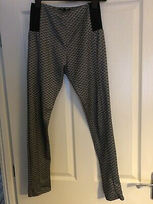 NEW LOOK 915 GENERATION GREY BLACK TROUSERS (jeggins) AGE 14-15 YEARS