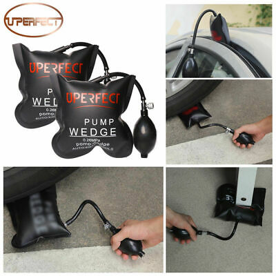 2x Strong Air Bag Wedge Pump Inflatable Automotiv Entry Fitting Car Window Tools