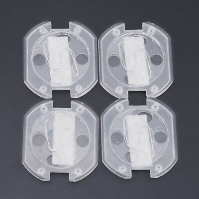 10pcs Baby Rotate Cover 2 Hole Round  Against Electric Protection Socket Cover