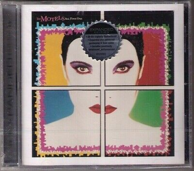 sealed CD Motels All Four One expanded ed. Only the Lonely Martha Davis new wave